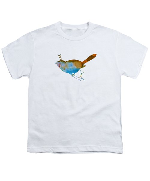Chickadee Youth T-Shirt by Mordax Furittus