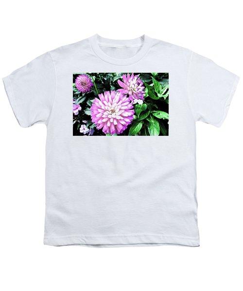 Dahlia Youth T-Shirt by Cesar Vieira