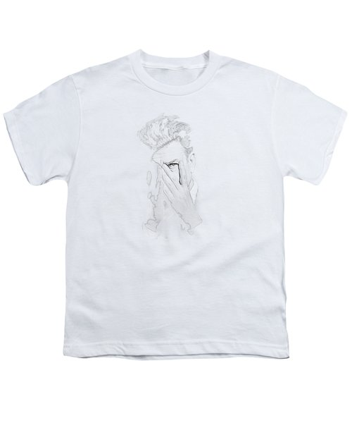 David Lynch Hands Youth T-Shirt by Yo Pedro