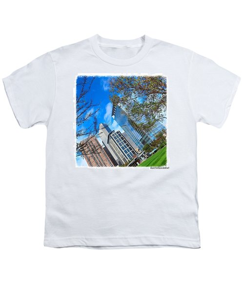 #downtown #houston On A #beautiful Youth T-Shirt