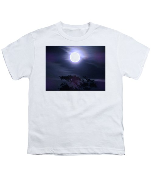 Full Moon Falling Youth T-Shirt