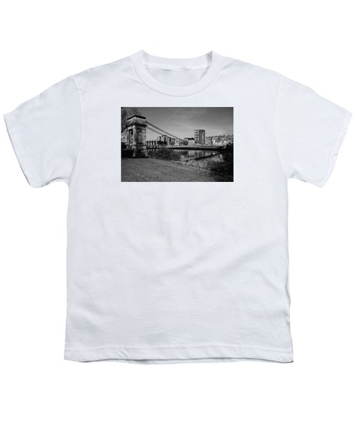 Youth T-Shirt featuring the photograph Glasgow by Jeremy Lavender Photography