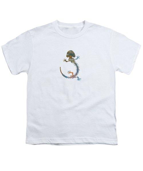Hellbender Skeleton Youth T-Shirt by Mordax Furittus