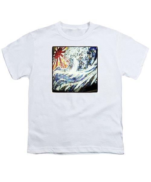 #hosukai #tsunami #jdm #risingsun Youth T-Shirt
