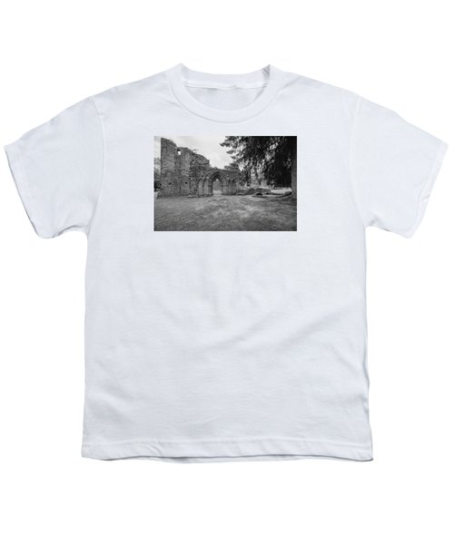 Inchmahome Priory Youth T-Shirt by Jeremy Lavender Photography