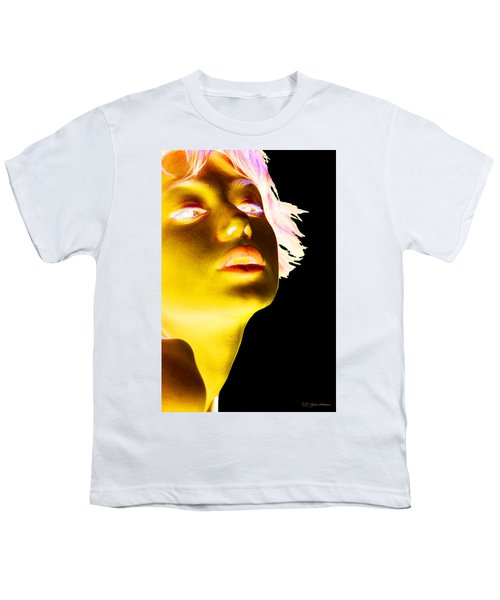 Inverted Realities - Yellow  Youth T-Shirt by Serge Averbukh