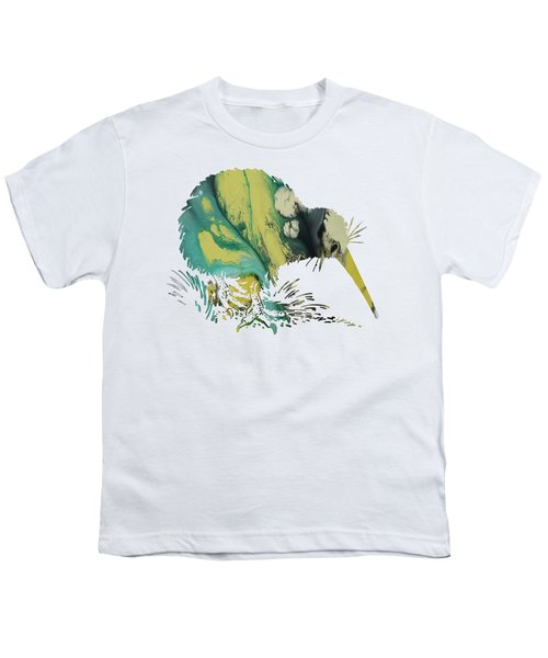 Kiwi Bird Youth T-Shirt by Mordax Furittus
