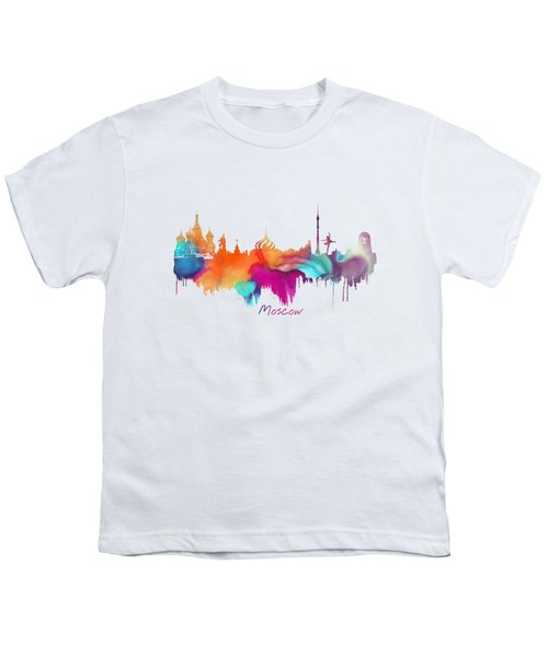 Moscow  Youth T-Shirt by Justyna JBJart