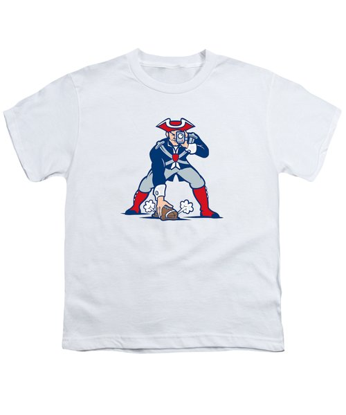 New England Patriots Parody Youth T-Shirt by Joe Hamilton