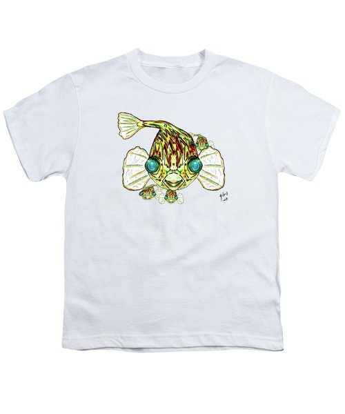 Puffer Fish Youth T-Shirt by W Gilroy