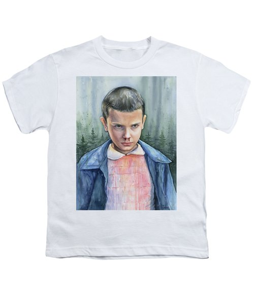 Stranger Things Eleven Portrait Youth T-Shirt