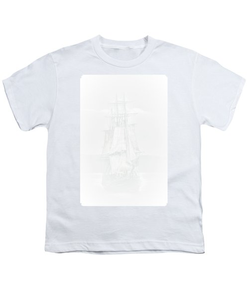 The Ghost Ship Youth T-Shirt by David Patterson