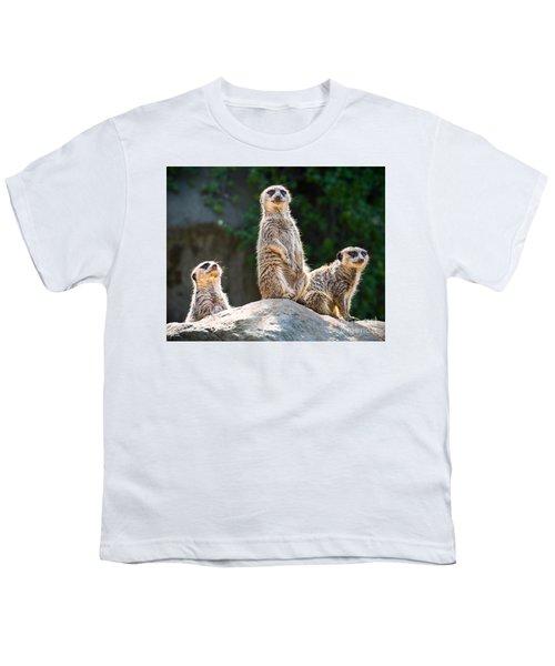 Three's Company Youth T-Shirt by Jamie Pham