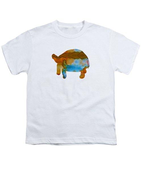 Tortoise Youth T-Shirt by Mordax Furittus