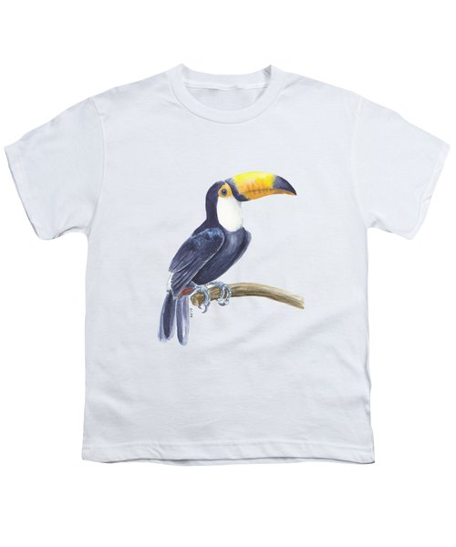 Toucan, Tropical Bird Youth T-Shirt