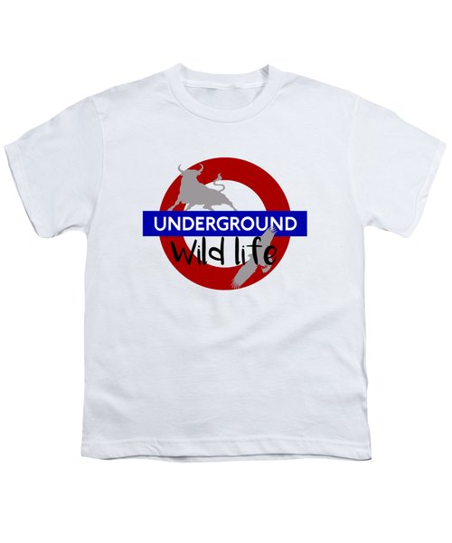 Underground.2 Youth T-Shirt by Alberto RuiZ