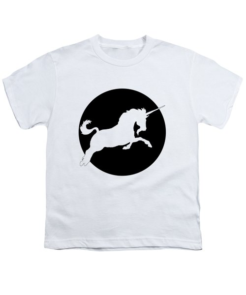 Unicorn Youth T-Shirt by Mordax Furittus