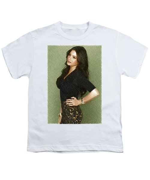 Celebrity Sofia Vergara  Youth T-Shirt by Best Actors