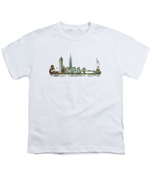 New York City Skyline Youth T-Shirt