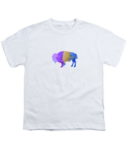 Bison Youth T-Shirt by Mordax Furittus