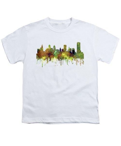Buffalo New York Skyline Youth T-Shirt