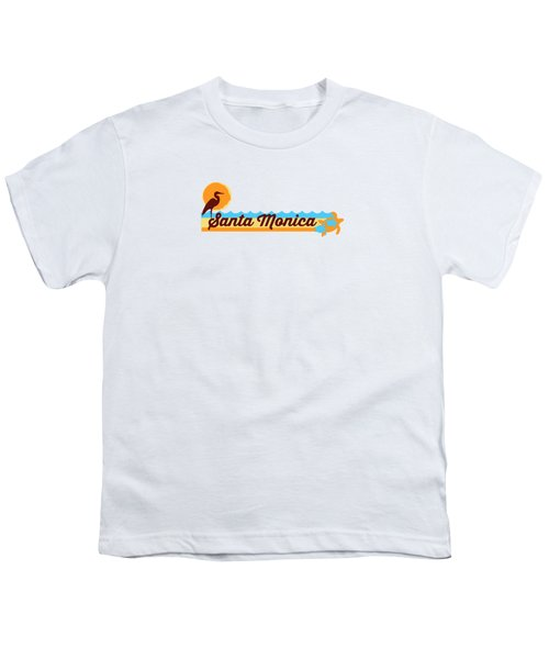 Santa Monica Youth T-Shirt by American Roadside