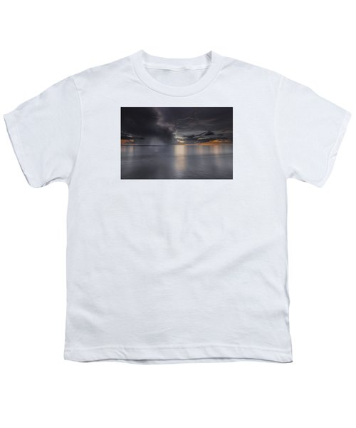 Sunst Over The Ocean Youth T-Shirt