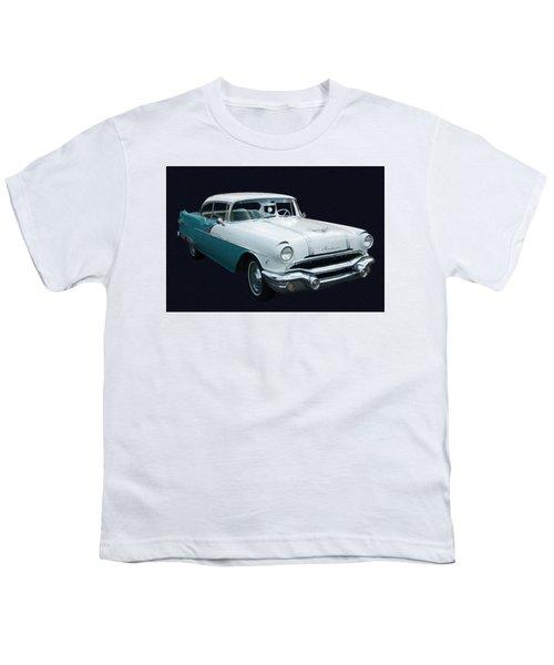 1956 Pontiac Star Chief Digital Oil Youth T-Shirt