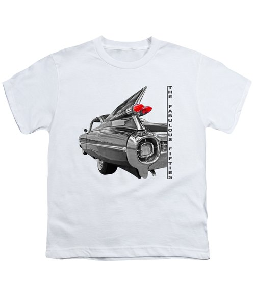1959 Cadillac Tail Fins Youth T-Shirt