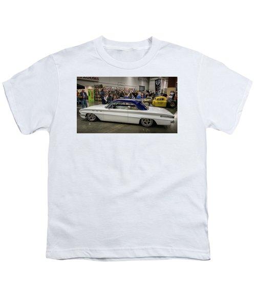 Youth T-Shirt featuring the photograph 1962 Buick Skylark by Randy Scherkenbach