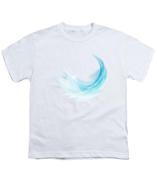 Abstract Feather Youth T-Shirt by Setsiri Silapasuwanchai