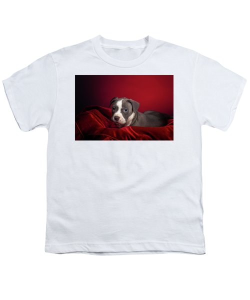 American Pitbull Puppy Youth T-Shirt