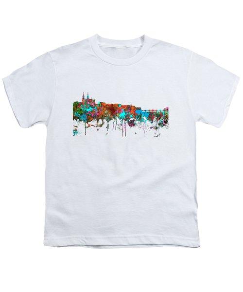 Basle Switzerland Skyline Youth T-Shirt