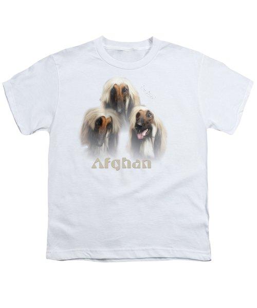 Beautiful Afghan Hound  Youth T-Shirt