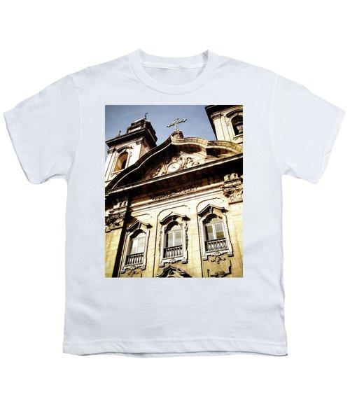 Church Youth T-Shirt by Cesar Vieira