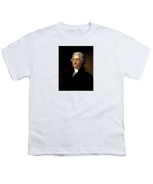President Thomas Jefferson  Youth T-Shirt by War Is Hell Store