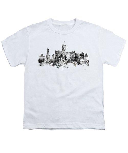 Rutherglen Scotland Skyline Youth T-Shirt