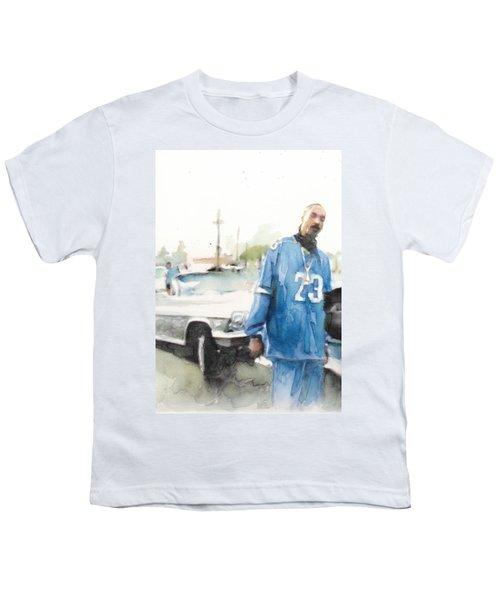 Snoop Detail Youth T-Shirt by Jani Heinonen