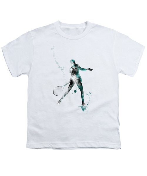 Tennis Player Youth T-Shirt