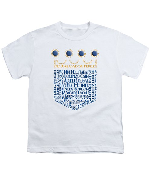 2015 Kansas City Crown Baseball Players Youth T-Shirt