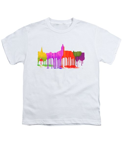 Annapolis Maryland Skyline      Youth T-Shirt by Marlene Watson