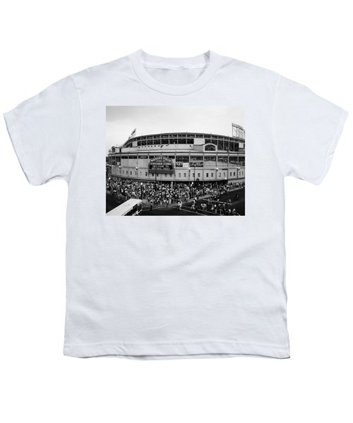 High Angle View Of Tourists Youth T-Shirt