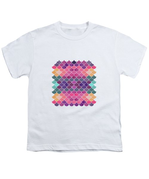 Lovely Pattern Youth T-Shirt by Amir Faysal