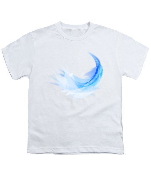 Abstract Feather Youth T-Shirt