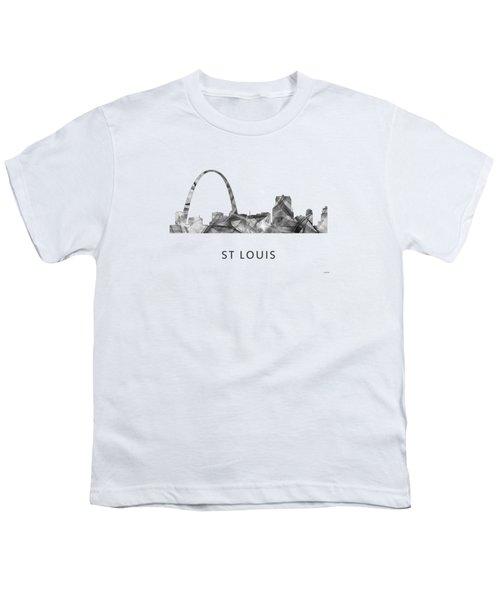 St Louis Missouri Skyline Youth T-Shirt by Marlene Watson