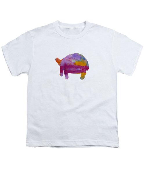 Tortoise Youth T-Shirt by Mordax Furittus