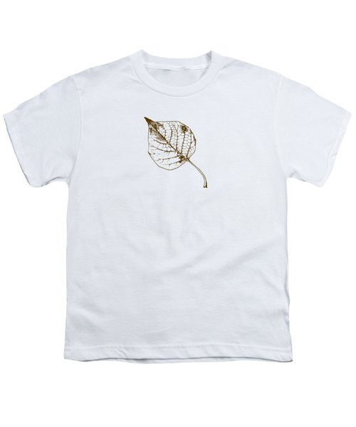 Autumn Day Youth T-Shirt by Chastity Hoff