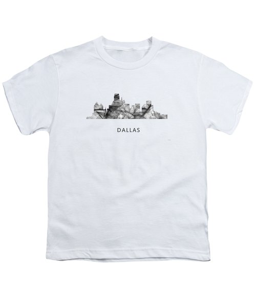 Dallas Texas Skyline Youth T-Shirt