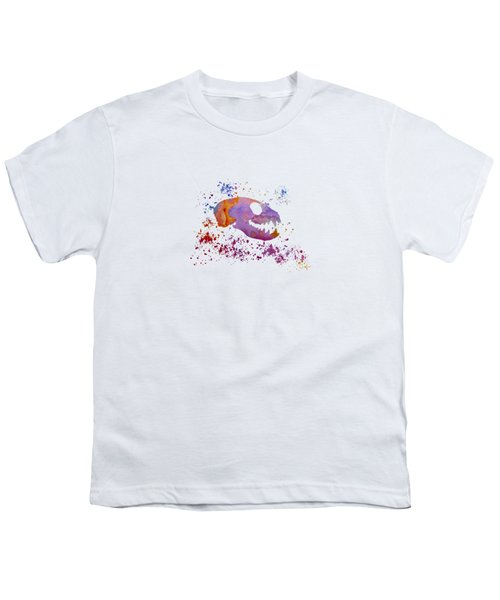 Meerkat Skull Youth T-Shirt