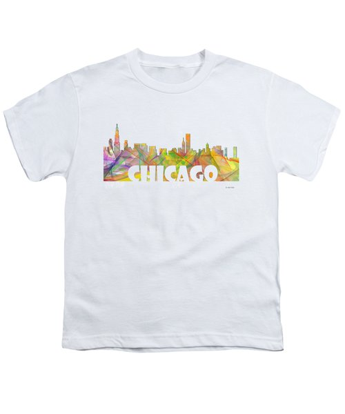 Chicago Illinois Skyline Youth T-Shirt
